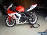Suzuki GSX-R 600  trackbike or circuitbike only 3253 miles !!!!