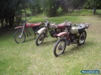 Yamaha trail / Ag bikes x 3