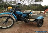 Honda XL350 Sidecar Outfit for Sale