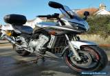 2004 YAMAHA FZS 1000 Fazer **FREE UK Delivery** SILVER for Sale