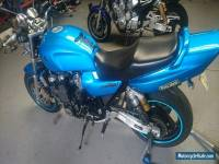 1996 Yamaha XJR1200 naked muscle bike. Cafe racer
