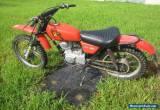 Honda xl motorcycle for restoration for Sale