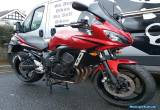 2007 ('57) YAMAHA FZ6 FAZER S2 **FREE UK Delivery** RED for Sale