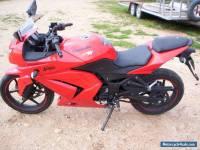 2009 motor bike 250cc kawasaki ninja
