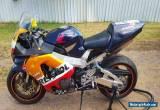 honda cbr 929 track bike for Sale