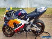 honda cbr 929 track bike