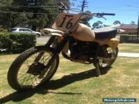 1980 Suzuki PE 175 Vintage Enduro Motor Bike