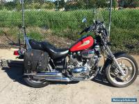 Yamaha XV750 1995 Virago tourer cruiser goes well motorcycle chopper bike
