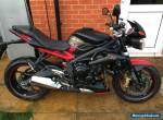 2016 TRIUMPH STREET TRIPLE DARK LTD EDITION ONLY 110 MILES 675cc STUNNING  for Sale
