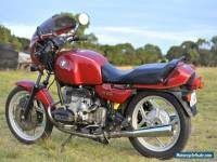 Motorcycle BMW 1993 R80