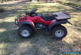Honda TRX400FW for Sale