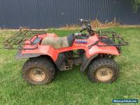 SUZUKI LTF 250 QUAD RUNNER CHEAP AS TRADED ATV