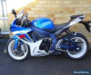 2012 SUZUKI GSXR 600 L1 BLUE 700 miles 1 owner SOLD  for Sale