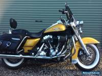 2008 Harley Davidson Road King Classic Motorcycle Gold (FLHRC) $17,500 ONO