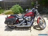 Harley Davidson Motorbike Lowrider   2008 Red great condition