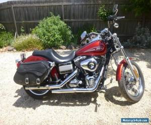 Harley Davidson Motorbike Lowrider   2008 Red great condition for Sale