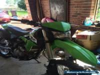 Kawasaki klx 250 2012 model not a honda Yamaha husaberg Suzuki