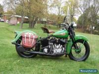 1938 Harley-Davidson Touring
