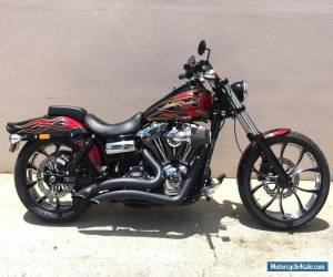 2013 Harley Davidson Wide Glide Screamin Eagle 120R + PM Wheels + Custom Paint for Sale