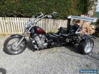 Honda Steed 600cc custom trike.
