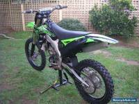 kx250f comes with soft drop stand! 2012 and manual.