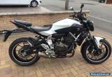 2014 YAMAHA MT-07 With MT07 Private Plate - Only 5000 miles and 1 owner from new for Sale