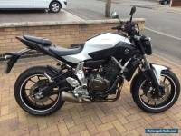 2014 YAMAHA MT-07 With MT07 Private Plate - Only 5000 miles and 1 owner from new