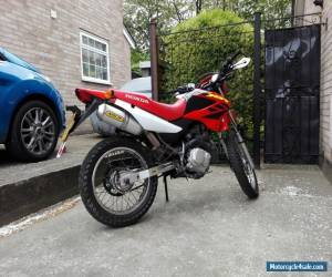 2005 HONDA XR 125 L-4 RED for Sale