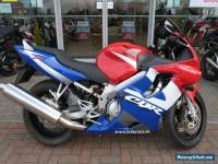 2001 HONDA CBR 600 F RED