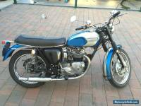 Triumph 1966 5TA Speed Twin 500cc Motorcycle - Matching Numbers Bike