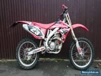 HONDA CRF450 R6 2006 - (NOT CRF450X) Road Legal Enduro/Motocross Bike