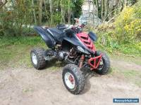 Yamaha Raptor 660 road legal quad bike