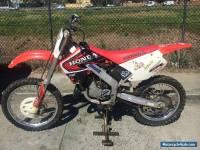 Honda CR125 1999 MX trail bike motocross farm enduro CR 125