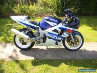 2003 SUZUKI GSXR 600 K3 BLUE