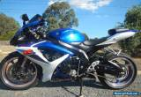 SUZUKI GSX 600 R 2007 MODEL WITH JUST OVER 10,000 KS MINT CONDITION for Sale