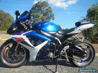 SUZUKI GSX 600 R 2007 MODEL WITH JUST OVER 10,000 KS MINT CONDITION