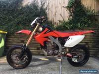 Honda CRF450X Super Motard & Dirt bike