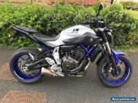 Yamaha MT-07 ABS - 2016 - Race Blue