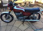 Suzuki gt250 k model ram air 1974 classic bike for Sale