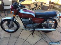 Suzuki gt250 k model ram air 1974 classic bike