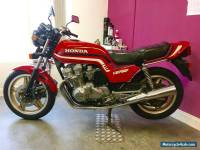 1985 HONDA CB750FD RED only 17300 miles