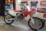 2016 Honda CRF250R Almost brand new. Not YZF KXF RMZ for Sale