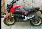 HONDA MSX GROM 125 . spares repair  ONLY 450 miles for Sale