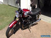 2006 Triumph Bonneville Motorcycle T100 Black