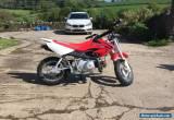 2016 Honda CRF 50 childs motorbike for Sale