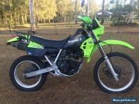 kawasaki KLR 250 2000 model road trail motorcycle