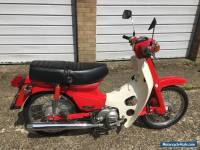1986 Honda C50 LA-E red ultra-low 1,760 miles Cub Supercub absolutely mint
