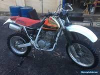 HONDA XR600R 1998 Model VMX Motorcycle