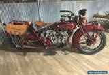 1928 Indian 101 Scout for Sale