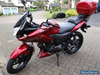 2013 HONDA CBF 125cc sports motorcycle BIKE dark metallic RED Superb condition